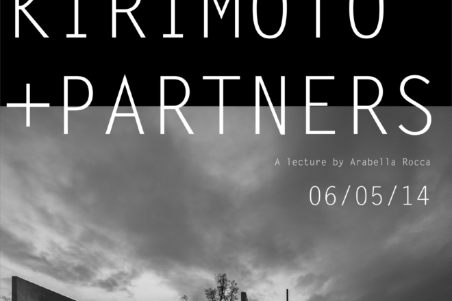 Poster of Alvisi-Kirimoto + partners' lecture.