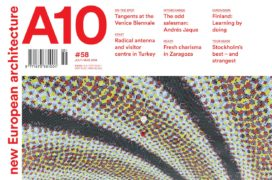 Cover of the A10 architecture magazine.