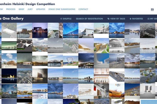 Entries to the Guggenheim Helsinki Design Competition.