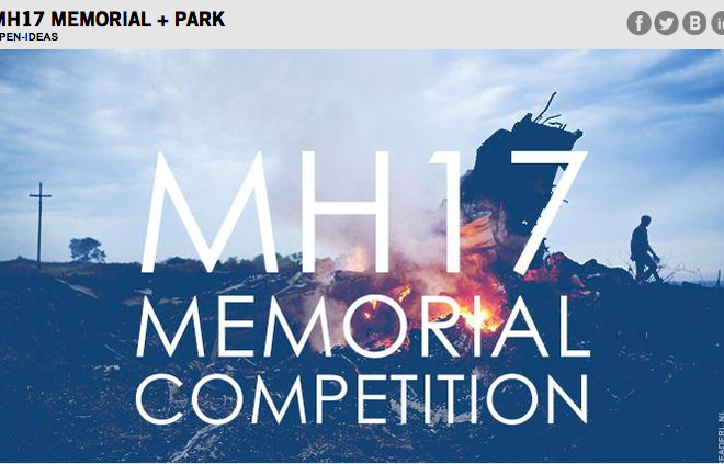 MH17 memorial competition.