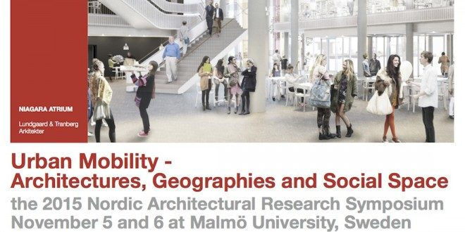 Mainos: Urban Mobility- Architectures, geographies and social space.