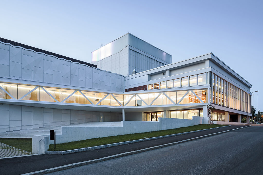 Kuopio City Theatre restauration and extension in Kuopio, Finland designed by ALA architects.