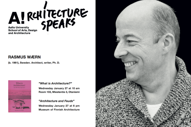 Rasmus Wærn lecture poster