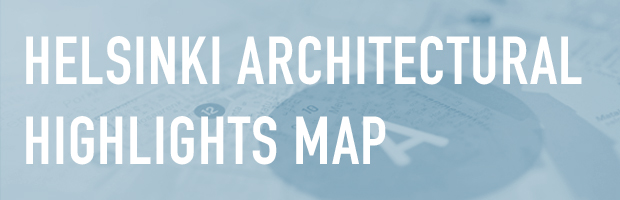 Helsinki architectural highlights map