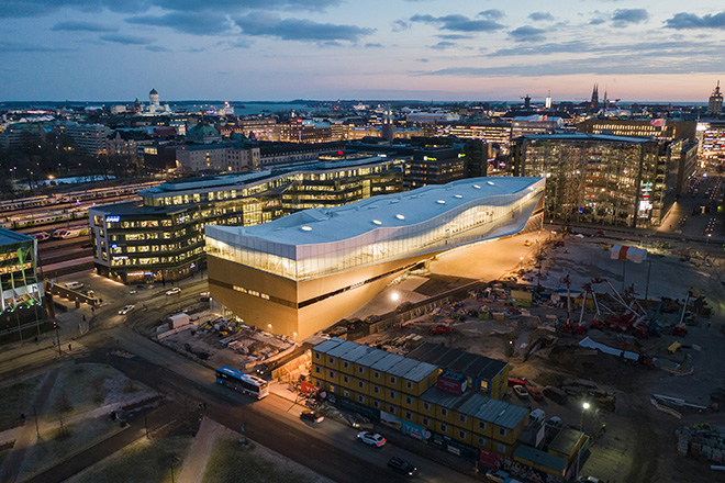 Helsinki Central Library Oodi Shortlisted For The Mies Van Der Rohe