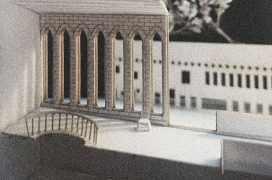 A model of a museum.