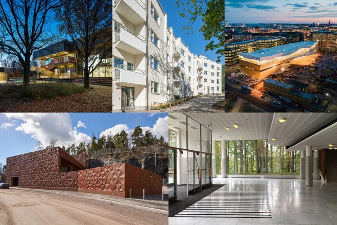 Collague of the Finlandia Prize finalists.