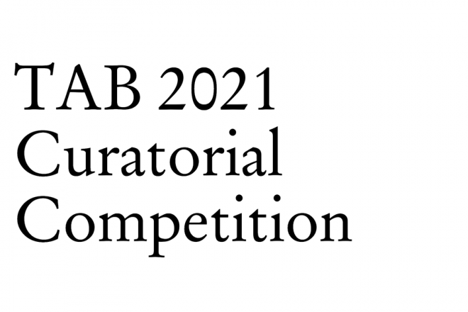 Tab 2021 Curatorial Competition