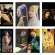 Screenshot of Instagram feed, full of #karanteenitaidetta works. Dama con l'unicorno, The Girl with a Pearl Earring, Medusa, Young sick Bacchus, Girl with cat 2 ja The Kiss.